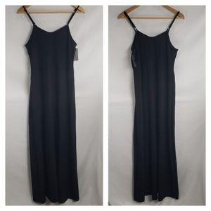 Mossimo Black on Black Striped Maxi Dress